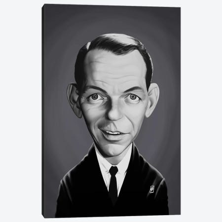 Frank Sinatra Canvas Print #RSW327} by Rob Snow Canvas Print