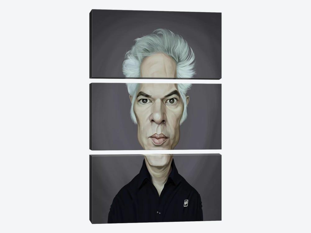 Jim Jarmusch by Rob Snow 3-piece Canvas Print