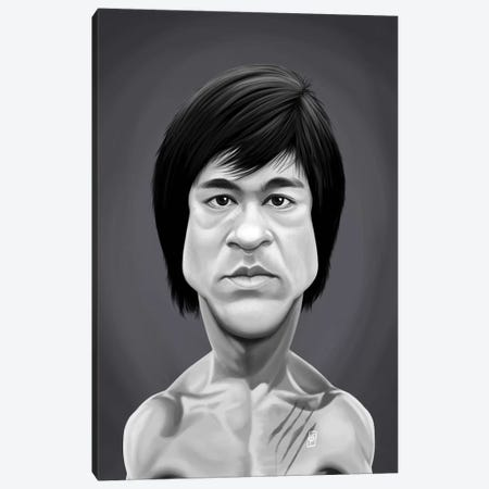 Bruce Lee Canvas Print #RSW344} by Rob Snow Canvas Print