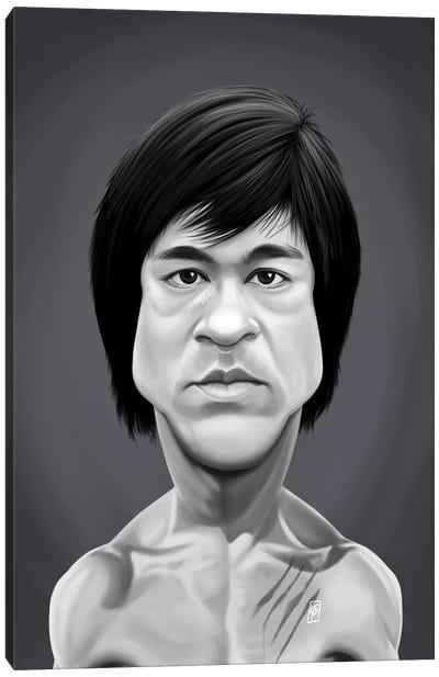 Bruce Lee Canvas Art Print