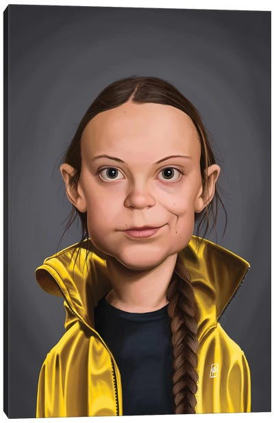 Greta Thunberg Canvas Art Print