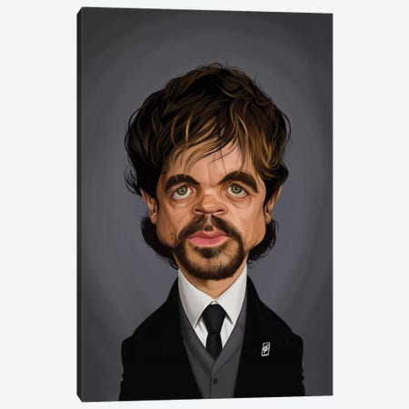 Peter Dinklage Canvas Print #RSW352} by Rob Snow Canvas Art Print