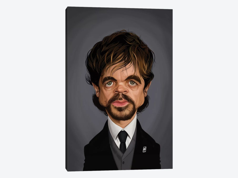 Peter Dinklage by Rob Snow 1-piece Canvas Artwork