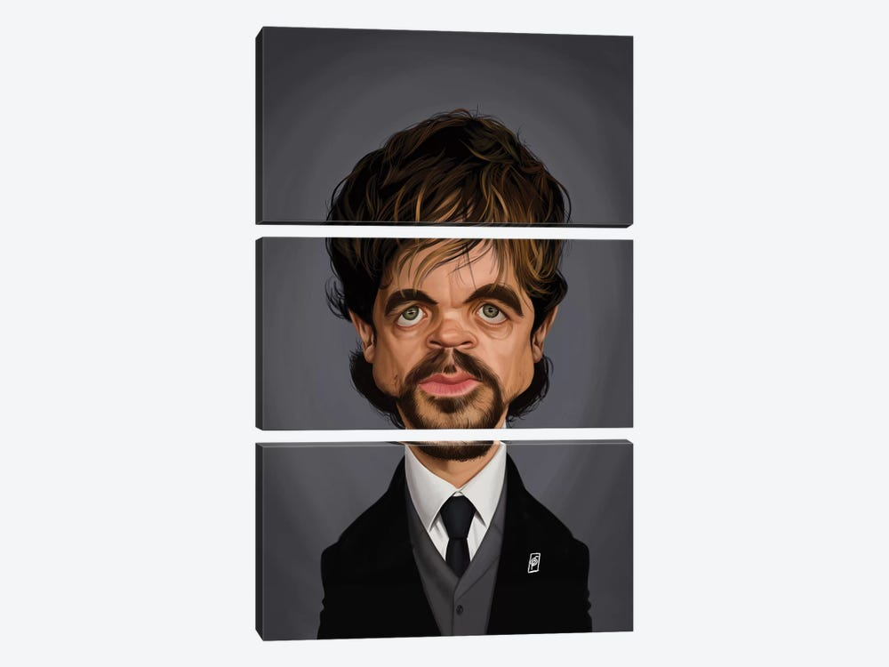 Peter Dinklage by Rob Snow 3-piece Canvas Art