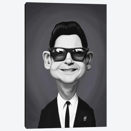 Roy Orbison Canvas Print #RSW353} by Rob Snow Art Print