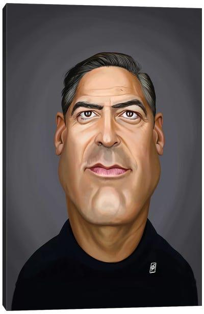 George Clooney Canvas Art Print