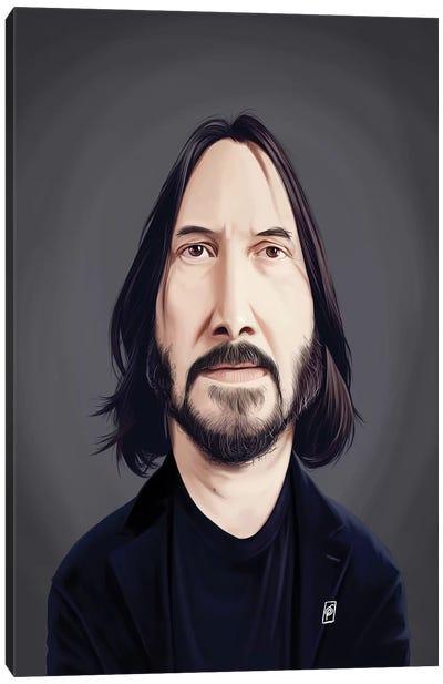 Keanu Reeves Canvas Art Print