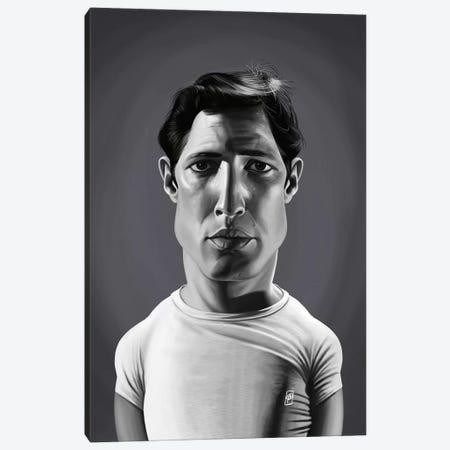 Marlon Brando Canvas Print #RSW364} by Rob Snow Art Print