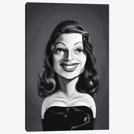 Rita Hayworth Canvas Print #RSW367} by Rob Snow Canvas Print