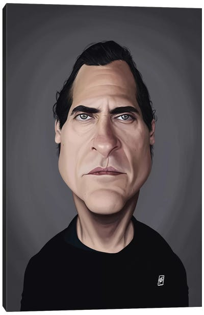 Joaquin Phoenix Canvas Art Print