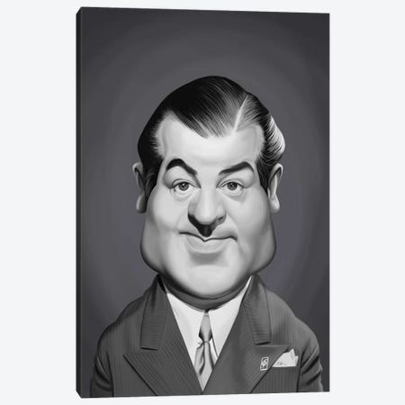 Lou Costello Canvas Print #RSW372} by Rob Snow Canvas Print