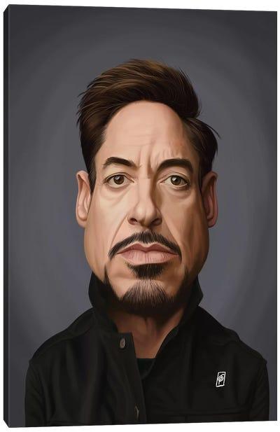Robert Downey Jr Canvas Art Print