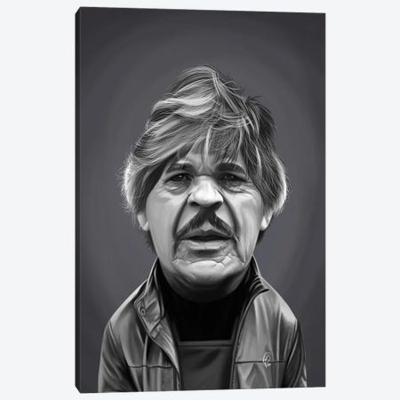 Charles Bronson Canvas Print #RSW390} by Rob Snow Canvas Art Print