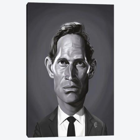 Charlton Heston Canvas Print #RSW391} by Rob Snow Canvas Art Print
