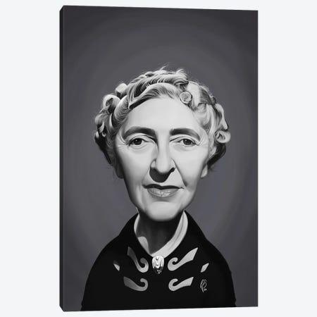 Agatha Christie Canvas Print #RSW394} by Rob Snow Canvas Artwork