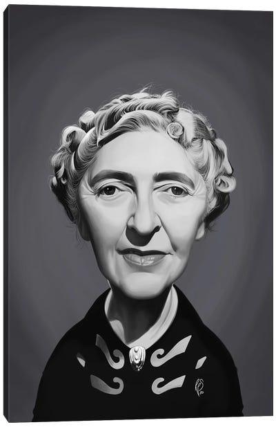 Agatha Christie Canvas Art Print