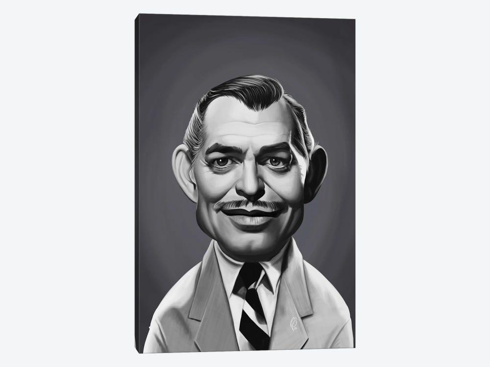 Clark Gable by Rob Snow 1-piece Canvas Art