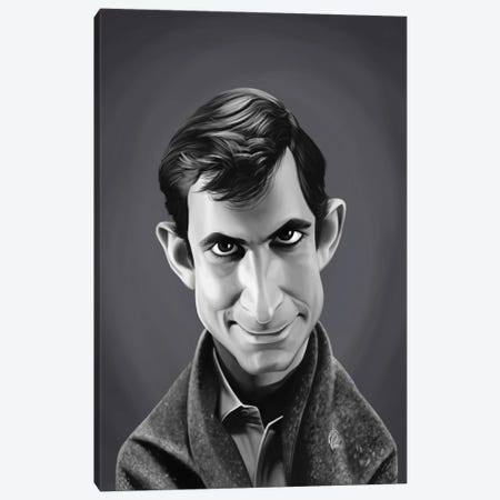 Anthony Perkins Canvas Print #RSW397} by Rob Snow Canvas Wall Art