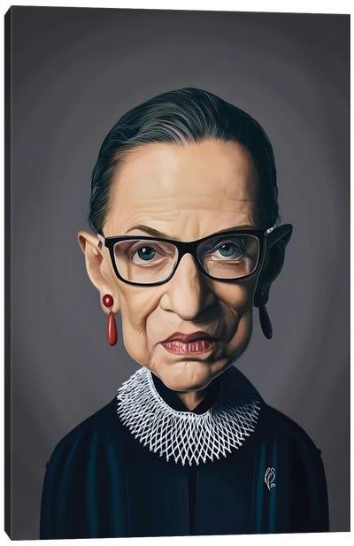 Ruth Bader Ginsburg - RBG Canvas Art Print