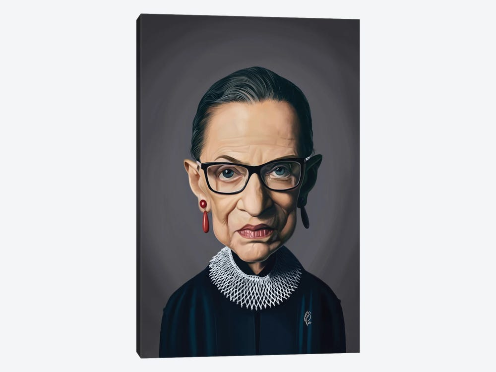 Ruth Bader Ginsburg - RBG by Rob Snow 1-piece Art Print