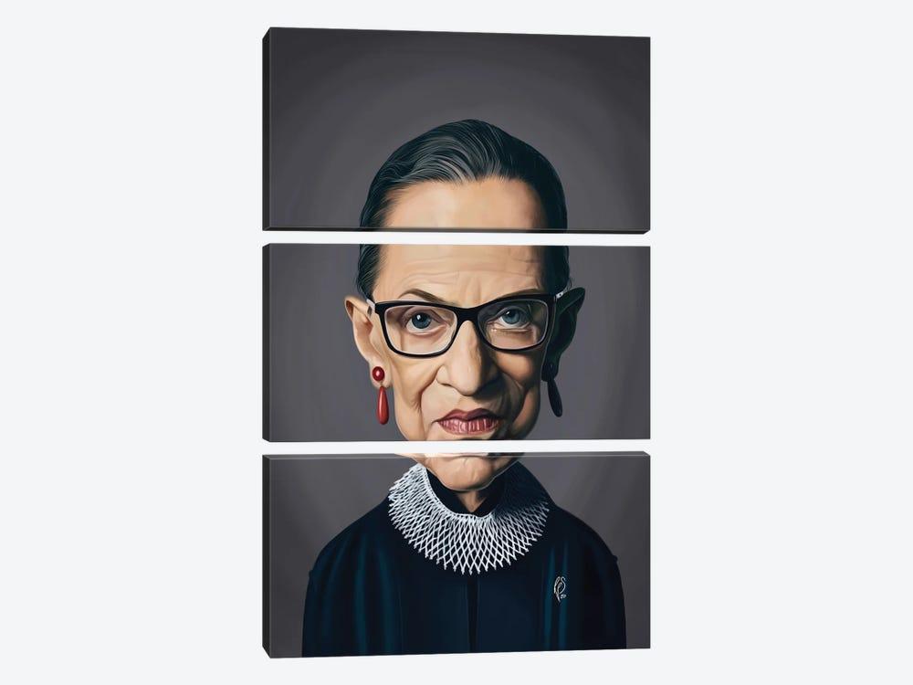 Ruth Bader Ginsburg - RBG by Rob Snow 3-piece Art Print