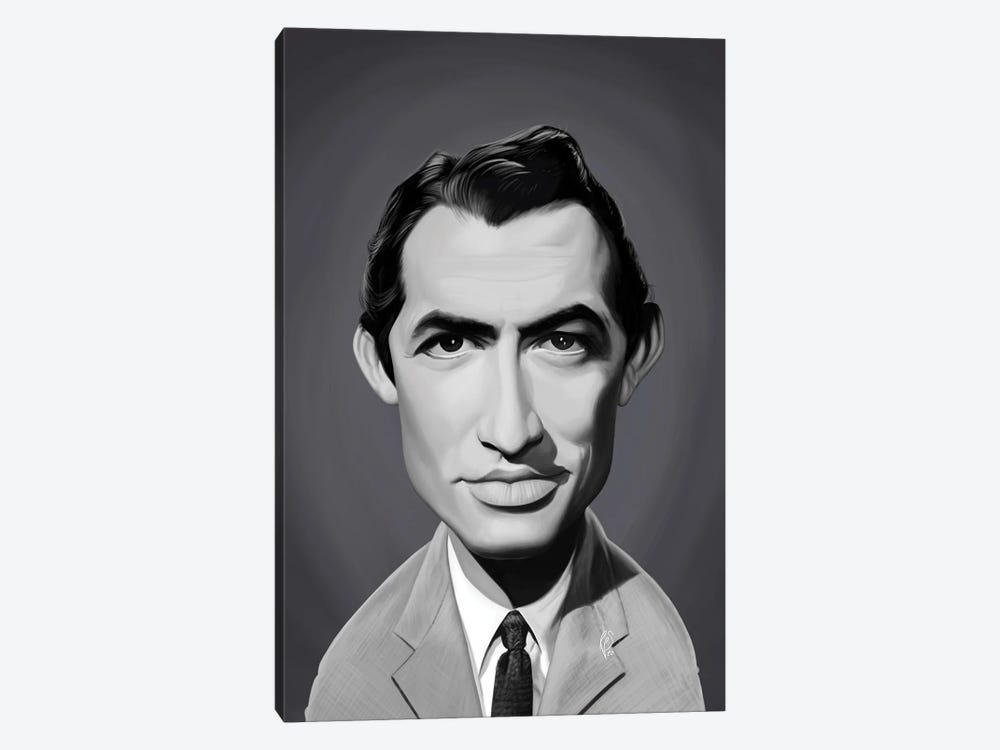 Gregory Peck by Rob Snow 1-piece Canvas Artwork