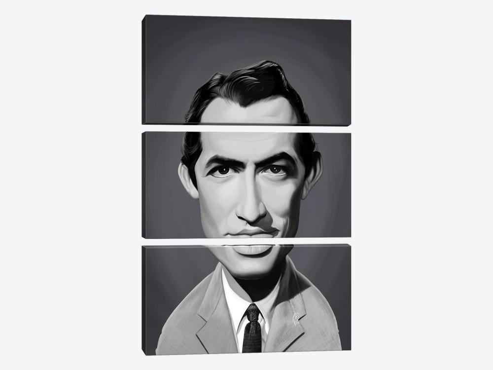 Gregory Peck by Rob Snow 3-piece Canvas Artwork
