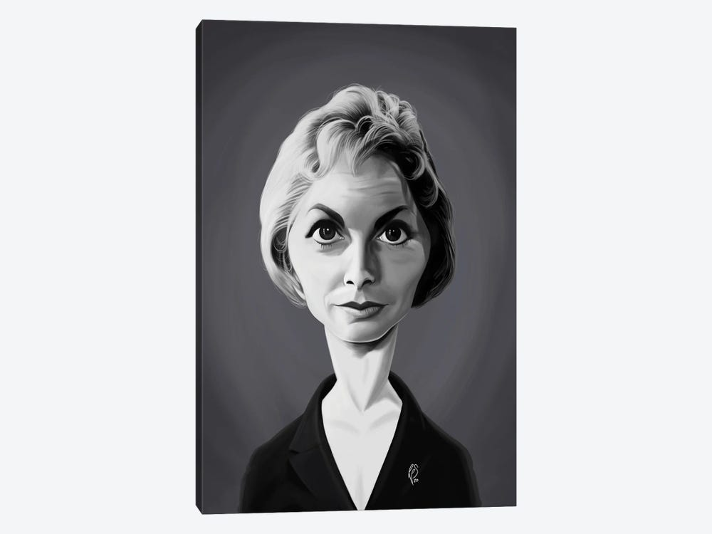 Janet Leigh by Rob Snow 1-piece Canvas Art