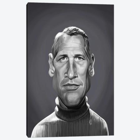 Paul Newman Canvas Print #RSW403} by Rob Snow Canvas Art Print
