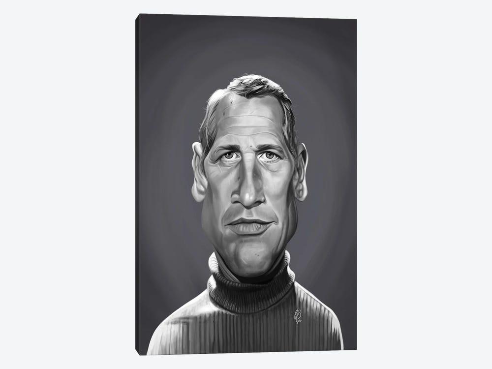 Paul Newman by Rob Snow 1-piece Canvas Art Print