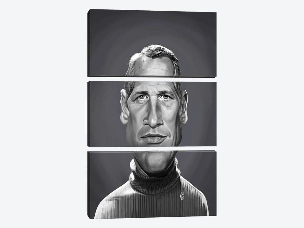 Paul Newman by Rob Snow 3-piece Art Print