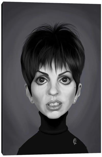 Liza Minnelli Canvas Art Print