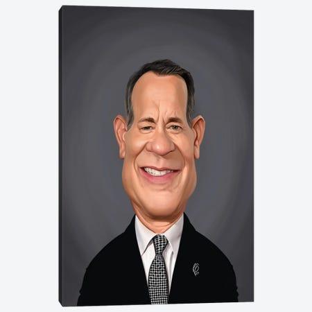 Tom Hanks Canvas Print #RSW420} by Rob Snow Canvas Print
