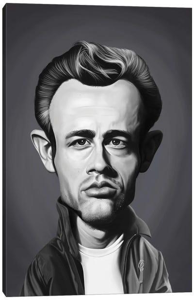 James Dean Canvas Art Print