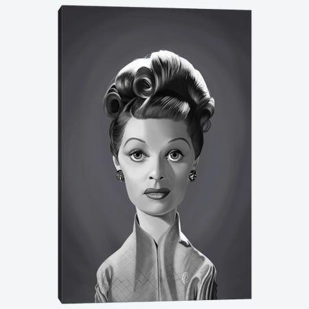 Lucille Ball Canvas Print #RSW422} by Rob Snow Canvas Art Print