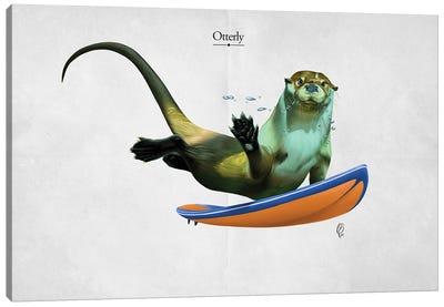 Otterly (Titled) Canvas Art Print