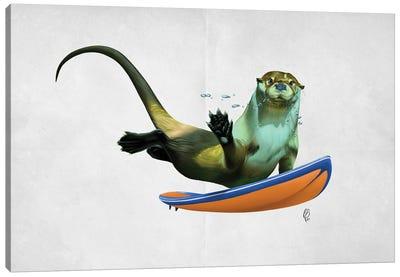 Otterly (Wordless) Canvas Art Print
