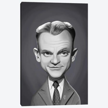 James Cagney Canvas Print #RSW437} by Rob Snow Art Print