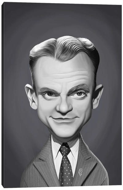 James Cagney Canvas Art Print