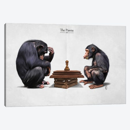 The Pawns (Title) Canvas Print #RSW439} by Rob Snow Canvas Artwork