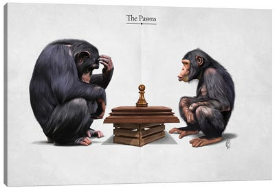 The Pawns (Title) Canvas Art Print