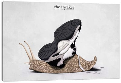 The Sneaker Canvas Print #RSW43