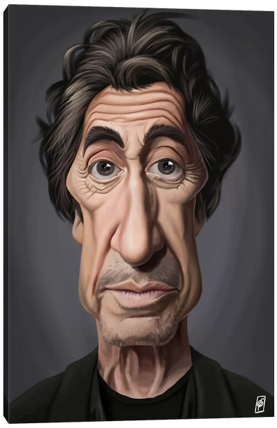 Celebrity Sunday Series: Al Pacino I Canvas Art Print