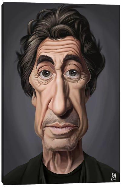 Celebrity Sunday Series: Al Pacino I Canvas Print #RSW58