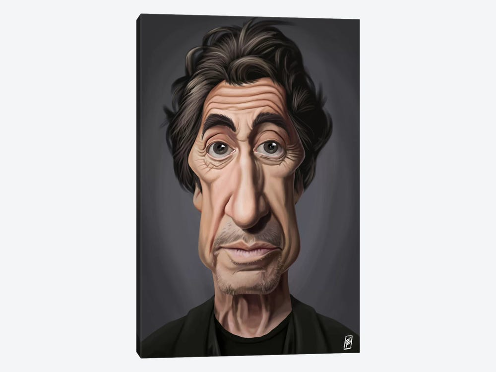 Celebrity Sunday Series: Al Pacino I by Rob Snow 1-piece Canvas Wall Art