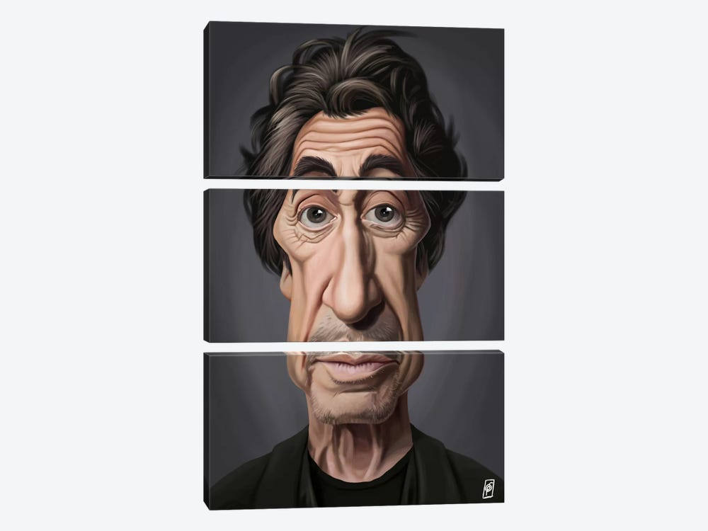 Celebrity Sunday Series: Al Pacino I by Rob Snow 3-piece Canvas Art
