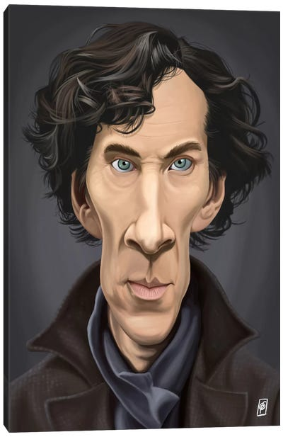 Benedict Cumberbatch I Canvas Art Print