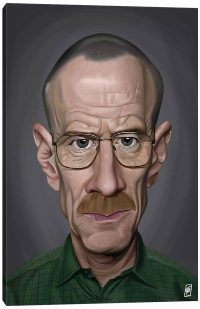 Celebrity Sunday Series: Bryan Cranston I Canvas Art Print