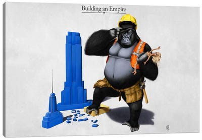 Building An Empire Canvas Art Print
