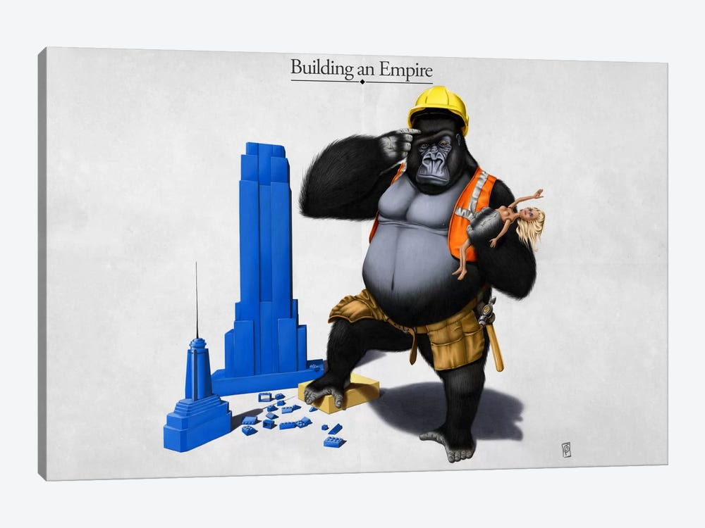 Building An Empire by Rob Snow 1-piece Canvas Artwork